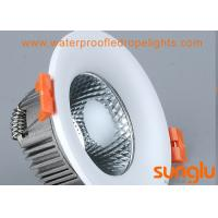 China White Sprayed 5w LED Downlight , Convex Surface Mounted Indoor LED Downlights on sale