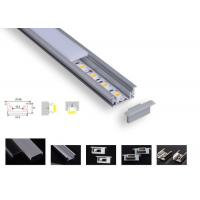 Wholesale Strong Pc Led Aluminium Channel , Pcb 12.2mm Led Tape Channel For Floor Lighting from china suppliers