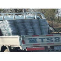 Wholesale 13.5 Gauge Barbed Farm Fence 0.086mm Razor Wire Concertina High Strength Galvanized from china suppliers