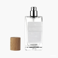 Wholesale 30ml 50ml Fancy Perfume Glass Bottle 1oz French Square Perfume Mouth Spray Bottle from china suppliers