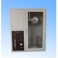 Buy cheap EN137 Fire Testing Equipment , Mask Flame Resistance Flammability Test Chamber from wholesalers