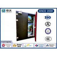 Quality Flexible Metal Insulated Fire Door With Two Leaf Strong Temperature Resistant for sale