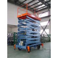 Wholesale Vertical hydraulic elevating platform , Hospital telescopic electric scissor lift from china suppliers