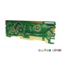 Buy cheap Intelligent Home Control PCB Circuit Board Green Solder Mask ENIG Surface from wholesalers