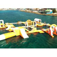 Wholesale Funny Forest Inflatable Water Park , Inflatable Water Sports Challenge from china suppliers