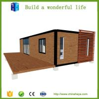 China prefabricated expandable 40ft steel container van house luxury for sale philippines price on sale