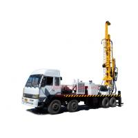 Buy cheap 8X4 heavy duty truck mounted top head water well drilling rig by mud drilling from wholesalers
