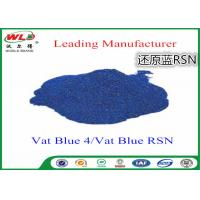 Wholesale Cotton Dyes Blue Dye Stuff Rsn Vat Blue 4 Chemicals Used In Textile Dyeing from china suppliers