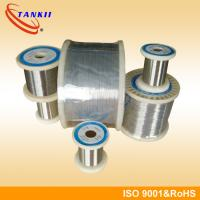 Wholesale Sable Resistance 8020 NiCr Alloy Nichrome Wire For Heating Element / Heat Sealer from china suppliers