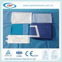 Wholesale surgical disposable sterile reinforced Laparotomy drape pack from china suppliers