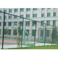 Protection Galvanized Steel Chain Link Fence Multi Sizes / Colors Available