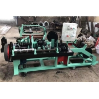 Wholesale Full Automatic Fast Cyclone Barbed Wire Net Wire Fence Machine 76MM 102Mm Barbed Space from china suppliers