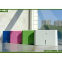 Buy cheap External Backup Rechargeable Portable Power Bank 18650 Battery ABS Material from wholesalers
