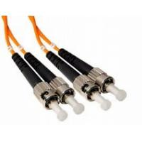 Buy cheap ST to ST Duplex Fiber Optic Patch Cord  62.5 / 125 Multimode with 3.0mm PVC Jacket from wholesalers