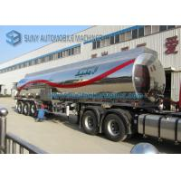 Wholesale Customized Stainless Steel Tanker Trailers from china suppliers
