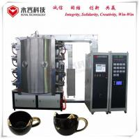 Buy cheap Ceramic PVD Vacuum Plating Machine, Glazed Ceramic TiN Coating Equipment from wholesalers
