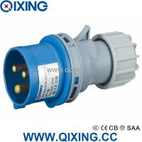 Wholesale industrial plug economic type 230V 16A IP44 3H qx-248 from china suppliers