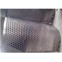 Wholesale Round Hole Shape Perforated Metal Sheet Zinc Coating 40 G HDG  Punching from china suppliers