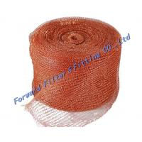 China Standard Stainless Steel Woven Metal Mesh / Safe  strong Knitted Wire Mist Eliminator on sale