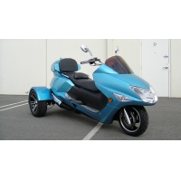 Wholesale Single Cylinder 300cc Moped 22HP 3 Wheel Motor Scooter from china suppliers