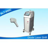 Wholesale Double Coolings Diode Laser Hair Removal Machine , Permanent 810nm Laser Hair Removal from china suppliers