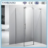 Wholesale Big wheels, sliding opening aluminium profiles for shower enclosures corner shower doors shower room from china suppliers