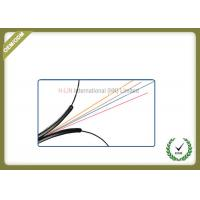 Buy cheap Indoor 4 Core FTTH Fiber Optic Cable Black LSZH Jacket CE/ISO/ROHS Certificated from wholesalers