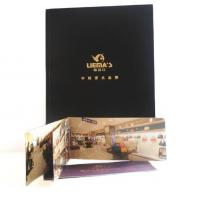Wholesale luxury design fold leaflet booklet printing brochure printing full color all pages from china suppliers