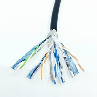 Buy cheap Fully Shielded CAT7 10Gbps Network Cable 600MHz For Data Centers from wholesalers