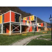 Buy cheap Office Pre Manufactured Container Homes , Portable Prefab Cargo Container Homes from wholesalers