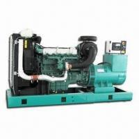 China Land Diesel Generating Set with Rated Power Ranging from 56 to 450kW, with Volvo Series Engine on sale