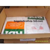 Wholesale Compost bags Corn Starch Bags Factory Price OK Compost 100% Corn Starch Biodegradable T-Shirt Carry Bags from china suppliers