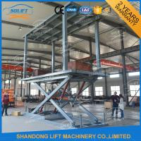 Wholesale 3.5T Double Car Scissor Lift Hydraulic Automated Car Parking System from china suppliers