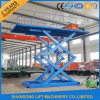 Buy cheap 3T 4.5M Hydraulic Mini Vehicle Scissor Car Lift Auto Lift For Parking from wholesalers