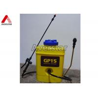 Wholesale 15L Portable Manual Pesticide Sprayer High Durability With Yellow Plastic Drum from china suppliers