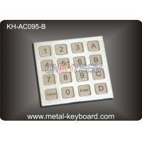 Wholesale Dust Proof Stainless Steel Keyboard IP 65 Access Control Keypad with 16 Keys from china suppliers