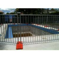 China Different Colors Temporary Pool Fencing For Above Ground Pools Easy Install on sale