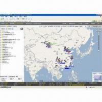 China BS Vehicle Monitoring and Dispatching System, GPS Online Vehicle Positioning System on sale