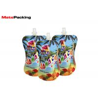 Wholesale Baby Food Spout Pouch Drink Packaging Bottom Gusset Reusable Eco Friendly from china suppliers