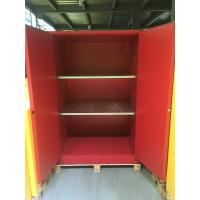 China 90 GAL Safety Fireproof Paint Storage Cabinets Dual Vents For Industrial / Chemical on sale