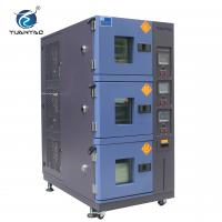 Wholesale Air Cooling Type 3-layer Climatic Temperature Humidity Test Chamber from china suppliers