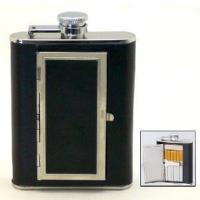 China Hip Flask with Cigarette Case (9660600-Y) on sale