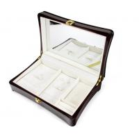Wholesale Luxury Wood Gift Box Packaging / Wooden Jewelry Case In Glossy Finish from china suppliers