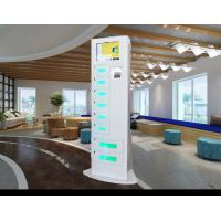Buy cheap Network Kiosk Multi Cell Phone Charging Stations With Big Advertising Screen from wholesalers