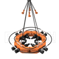 Buy cheap Hydraulic 10 Modules 150mm Concrete Pile Cutter For Buildings from wholesalers