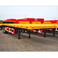 Wholesale 3 axles China flat bed trailer, 40FT China Container Trailer, China flatbed trailer from china suppliers