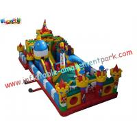 Wholesale Kids Fun Inflatable Amusement Park Equipment PVC Tarpaulin for Rent, Re - sale from china suppliers