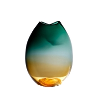 Wholesale Mouth Blown Nordic Artificial Decorative Glass Vases from china suppliers