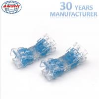 Wholesale Four Pair Inline Scotchlok Wire Connectors 0.4 - 0.7mm Transparent Lock Joint from china suppliers
