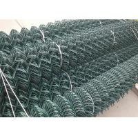 Wholesale 50x50mm Sport Court Diamond Galvanized Steel Chain Link Fence from china suppliers